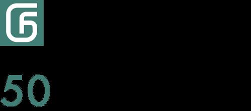 GEFA Logo 50 lat