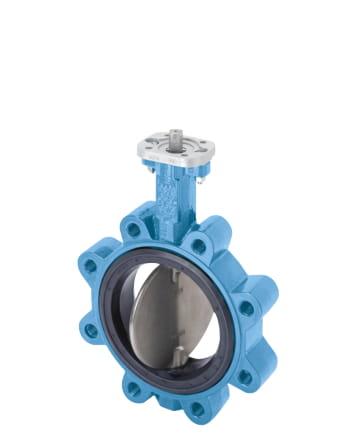 Przepustnica centryczna miękkouszczelniona KG2/KG4 z atestem DVGW na wodę